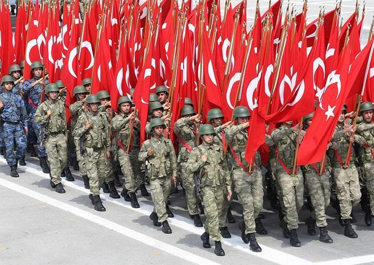 استقرار ارتش ترکیه در سیزده کشور دنیا