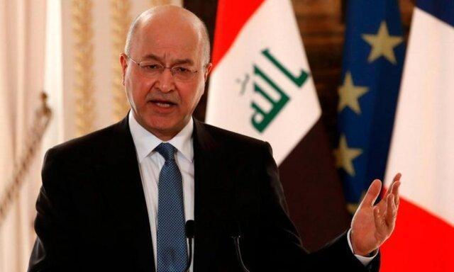 برهم صالح: ملت عراق خواستار کشوری دارای حاکمیت است