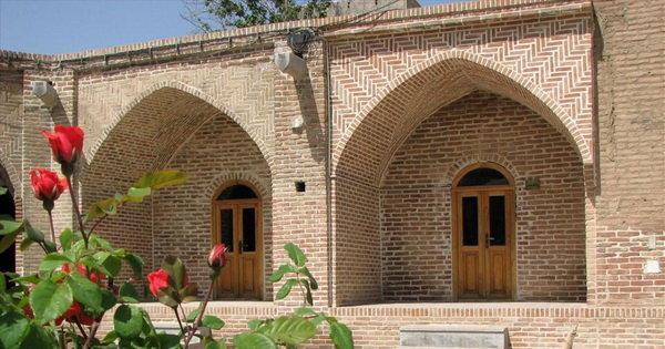 معماری شگفت انگیز کاروانسرای شاه عباسی