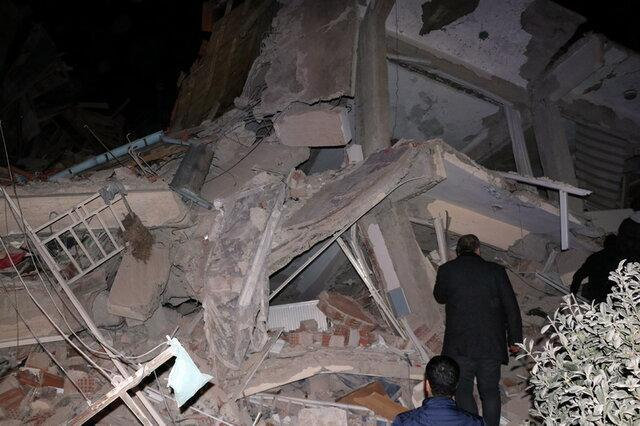 وقوع زمین لرزه شدید در شرق ترکیه