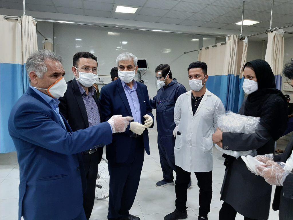 خبرنگاران سهم سیناصنعت ایذه در کرونا؛ توزیع 10 هزار ماسک رایگان در ایذه و باغملک
