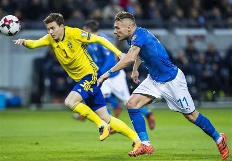 ترکیب تیم های ایتالیا و سوئد اعلام شد