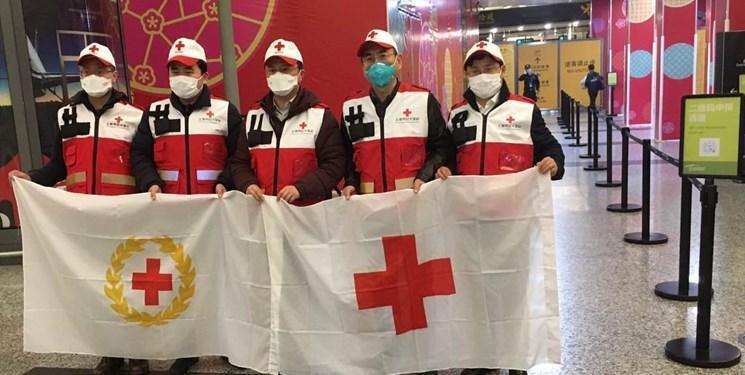 سفارت ایران در پکن: یاری های اهدایی صلیب سرخ چین تحویل وزارت بهداشت ایران شد