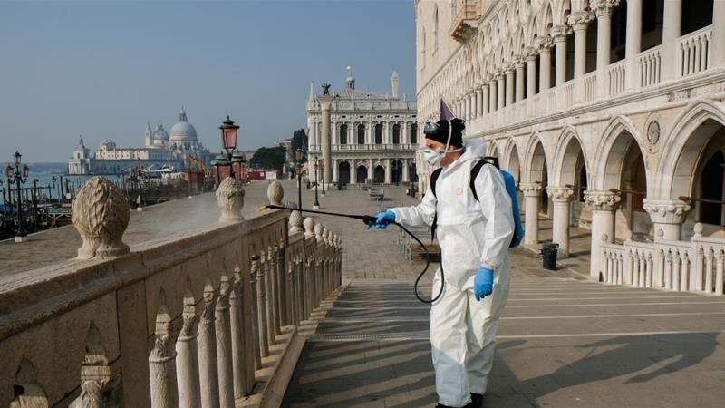 خبرنگاران شمار مرگ ومیر ناشی از کرونا در ایتالیا از 2500 تن گذشت