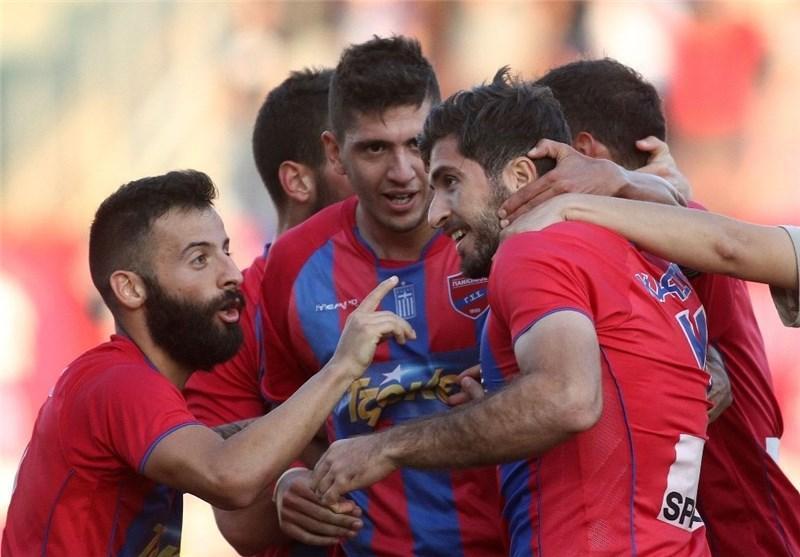 فزونی پانیونیوس در جام حذفی یونان بدون حضور انصاری فرد