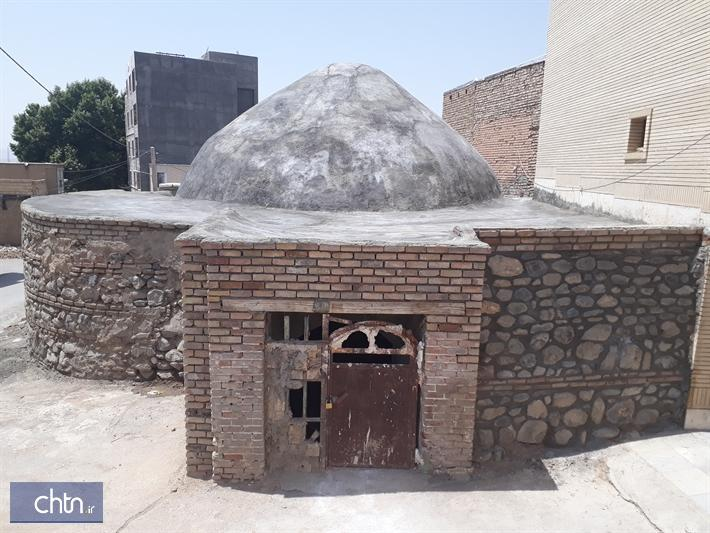 حمام تاریخی زرهان در تویسرکان بازسازی می گردد