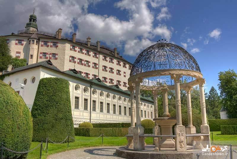 قلعه آمبراس از مهم ترین جاذبه های معماری اتریش، عکس