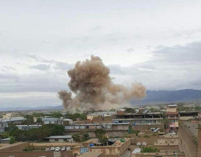 خودروی بمب گذاری در افغانستان منفجر شد