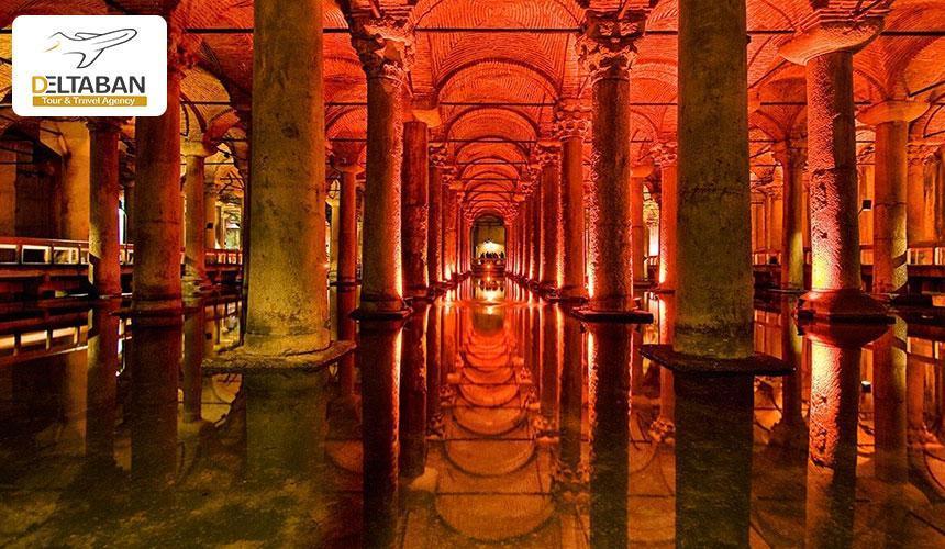 آب انبار باسیلیکا، شکوهی در زیر زمین استانبول