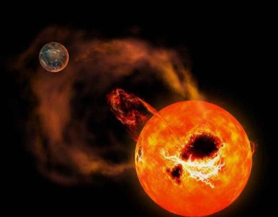 کشف ستاره ای 20 برابر عظیم تر از خورشید