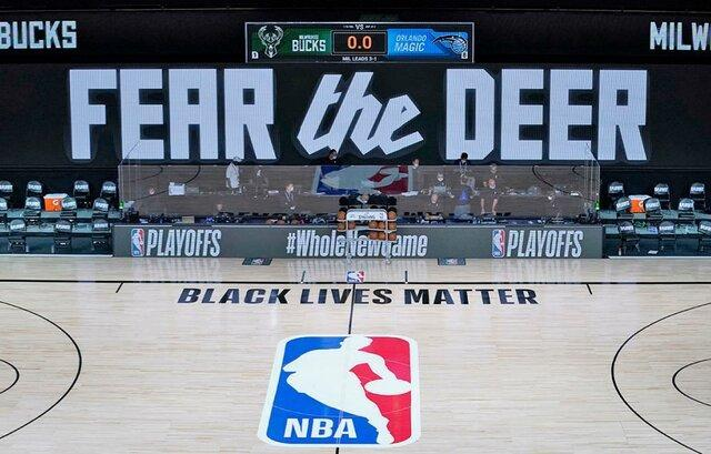 NBA روی هوا، تحریم لیگ حرفه ای بسکتبال آمریکا با اعتراض به نژاد پرستی
