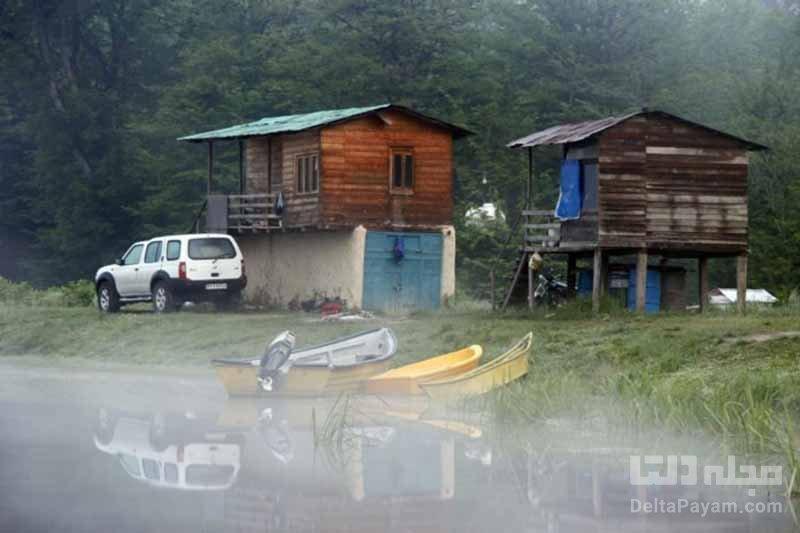 دریاچه الندان ؛ رویایی آبی و آرام در مازندران