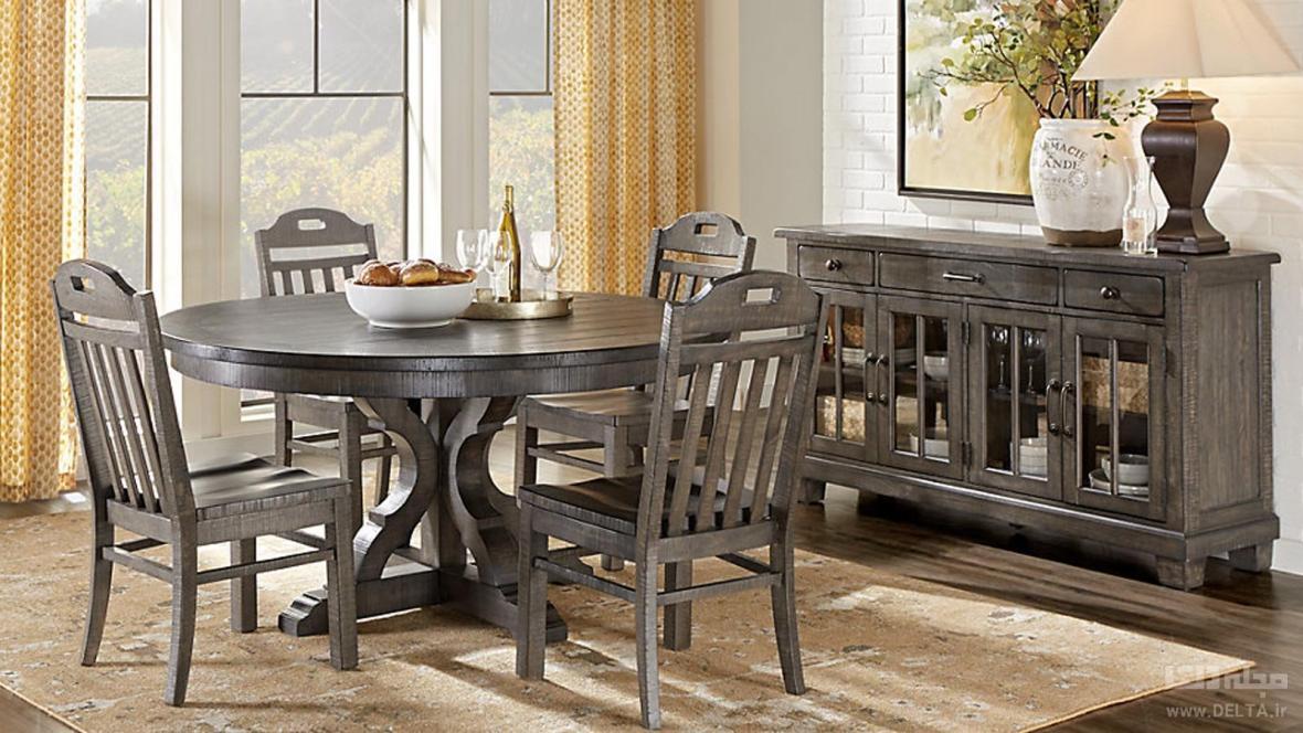 میز ناهارخوری کم جا ، مناسب برای خانه کوچک شما