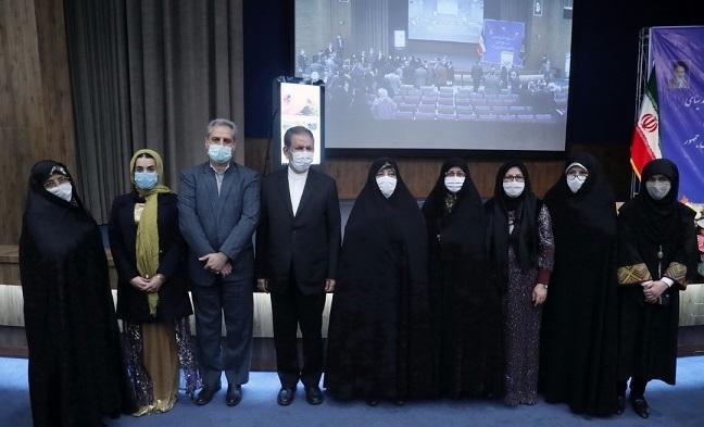 گزارش بانوی کارآفرین قلعه گنج در حضور معاون اول رئیس جمهوری