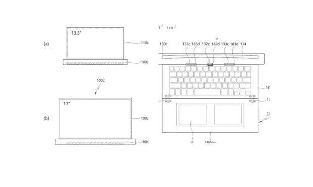 لپ تاپ لوله شونده کره ای در راه است