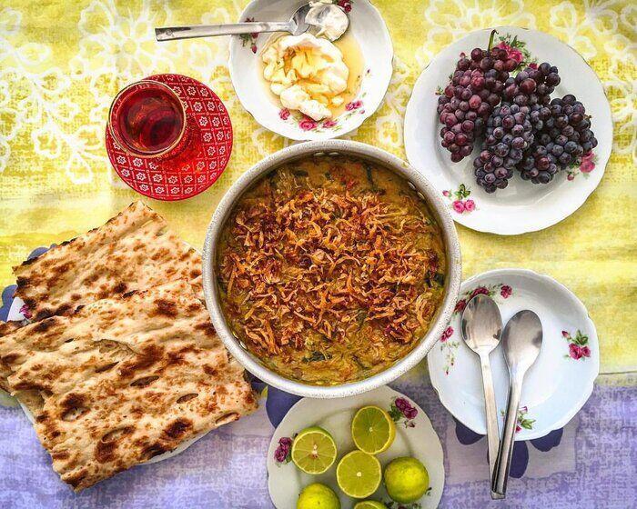 طرز تهیه آش شله قلمکار برای ماه رمضان؛ جذاب مثل آشپزی ایرانی