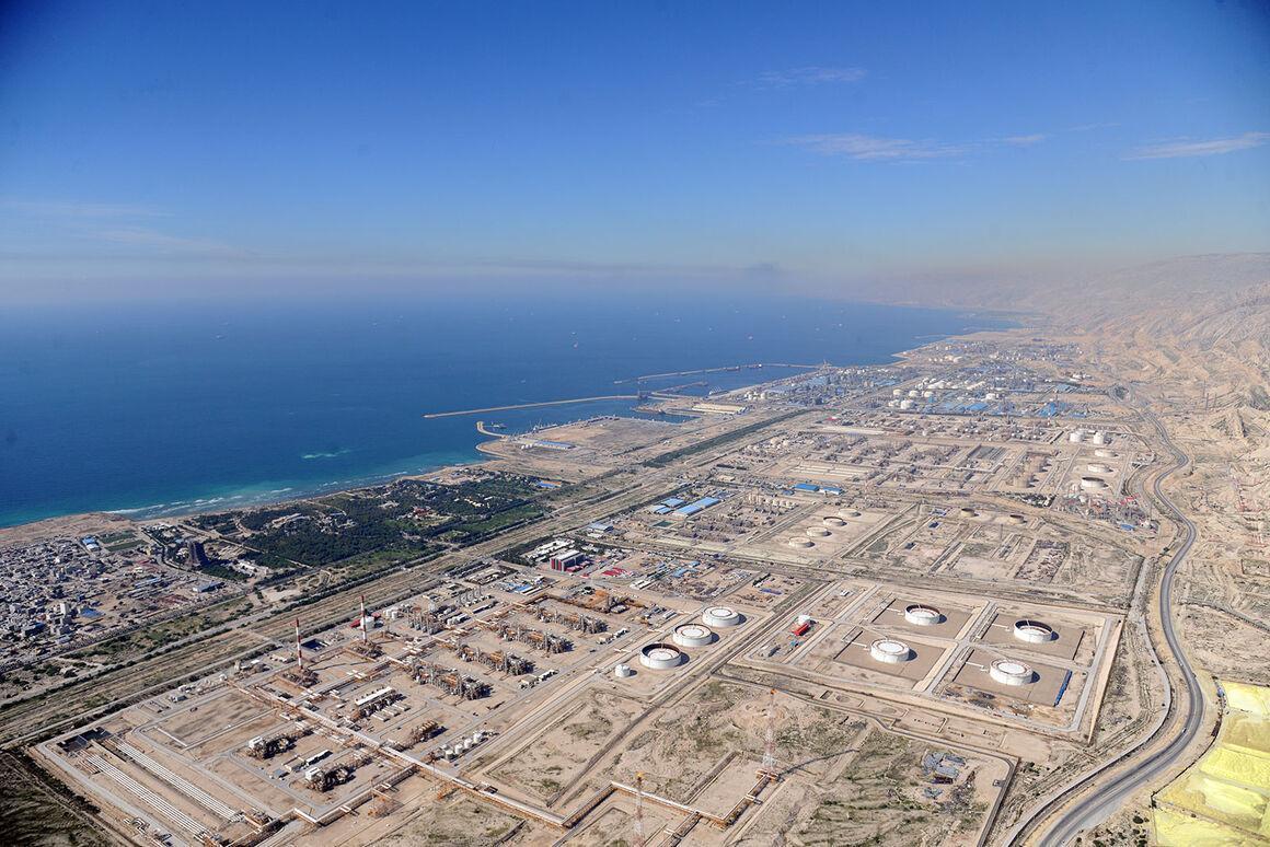 وضع تاسیسات صنعت نفت در منطقه ویژه پارس ایمن است