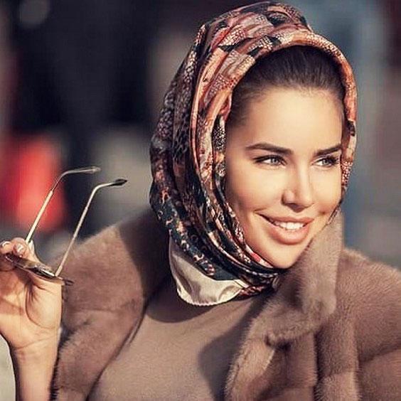 شیک ترین مدل شال و روسری زنانه و دخترانه
