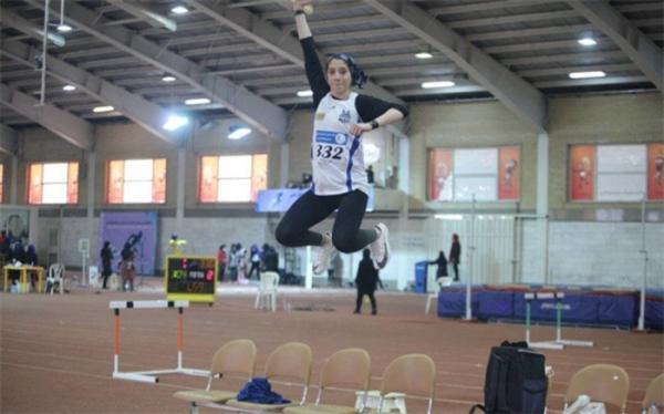 رکورد پرش سه گام زنان ایران شکسته شد