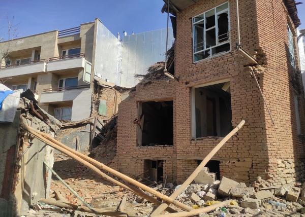 خبرنگاران انفجار یک منزل مسکونی در الیگودرز بر اثر نشت گاز