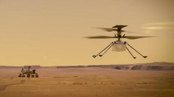 سومین پرواز پیروز نبوغ بر فراز مریخ