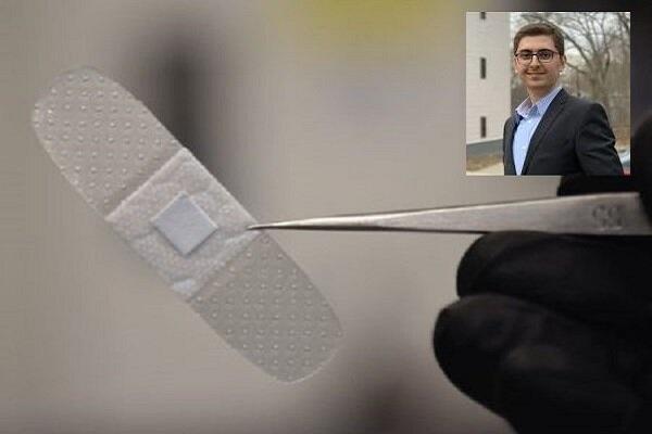 محقق ایرانی چسب زخم هوشمند نوری تولید کرد
