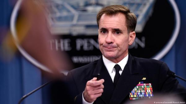 جان کربی: از فعالیت های نیروی دریایی ایران نگران هستیم