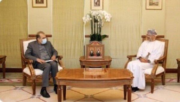 ملاقات دستیار ظریف با وزیر خارجه عمان