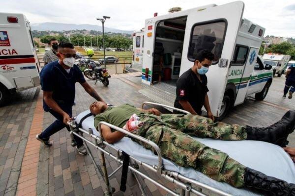 انفجار خودرو بمب گذاری شده در کلمبیا، 36 نفر مجروح شدند