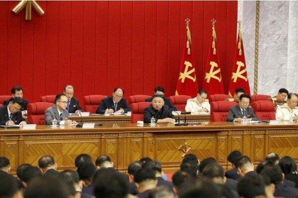خاتمه جلسه 4 روزه کمیته مرکزی حزب حاکم بر کره شمالی