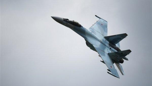 سقوط جنگنده سوخو 35 روسیه