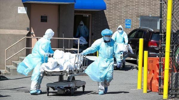 مرگ روزانه 1500 آمریکایی بر اثر کرونا