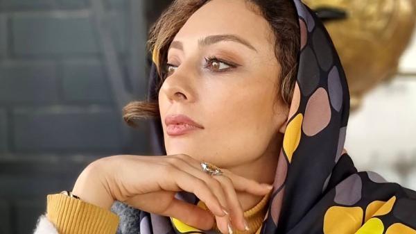 عکس یکتا ناصر با میکاپ متفاوت از خانم بازیگرها !